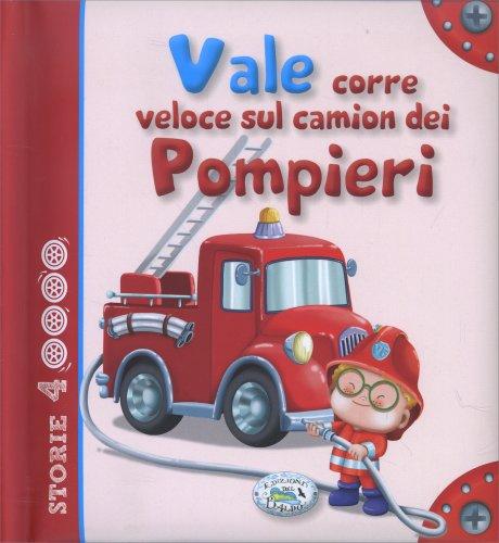 Vale Corre Veloce sul Camion dei Pompieri