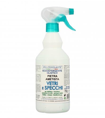 Detergente Vetri e Specchi con Pietra Ametista