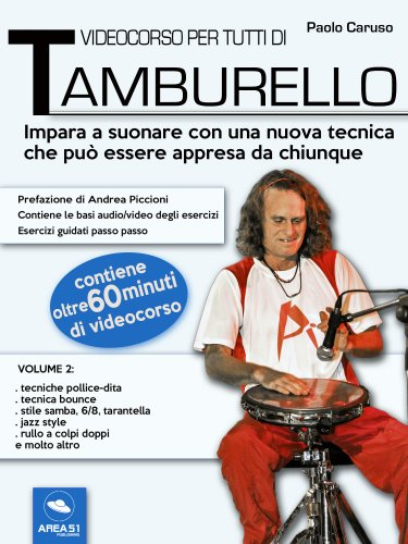 Videocorso per Tutti di Tamburello - Volume 2 (eBook)