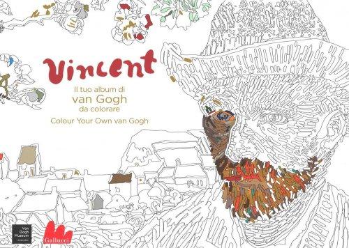 Vincent il Tuo Album di Van Gogh da Colorare