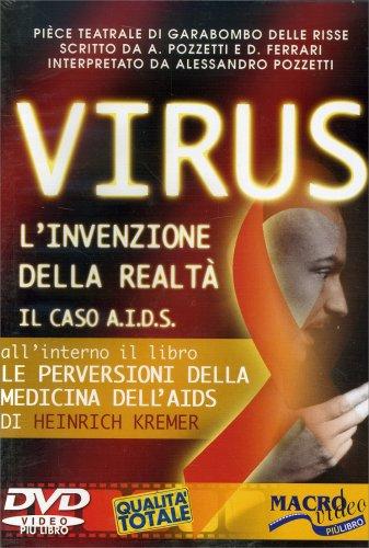 """Virus, l'invenzione della realtà - Il Caso AIDS (DVD + libro """"Le perversioni della medicina dell'Aids"""" di Heinrich Kremer)"""