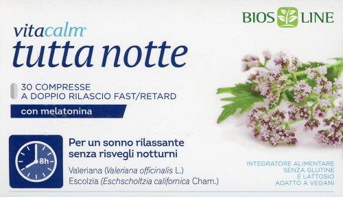 Vitacalm - Tutta Notte con Melatonina
