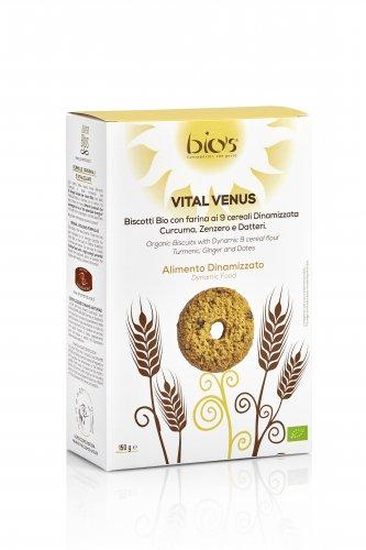 Vital Venus - Biscotti 9 Cereali, Curcuma, Zenzero e Datteri