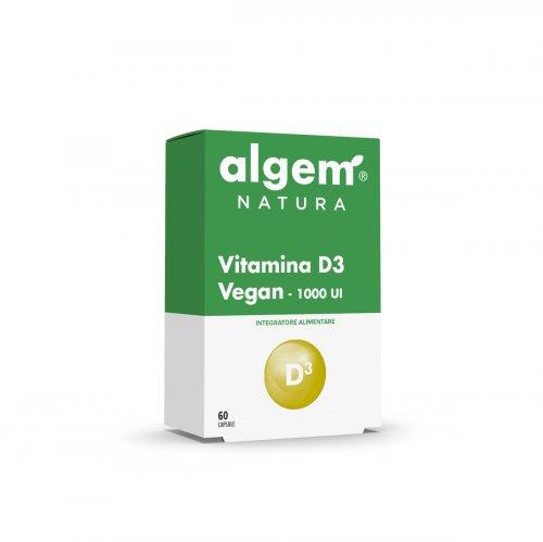 Vitamina D3 Vegan - 1000 UI - 60 Capsule