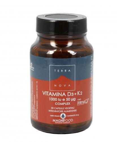 Vitamina D3+K2 (1000 iu e 50 ug) Complex