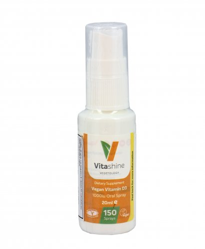 Vitamin D3 Vegan Spray 1000Iu - Vitashine