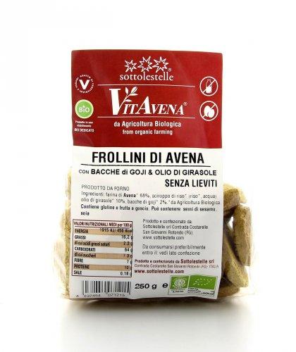 VitAvena - Frollini di Avena con Bacche di Goji
