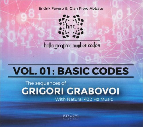 The Sequences of Grigori Grabovoi - HNC. Vol. 1 - Basic Codes - 432 Hz CD