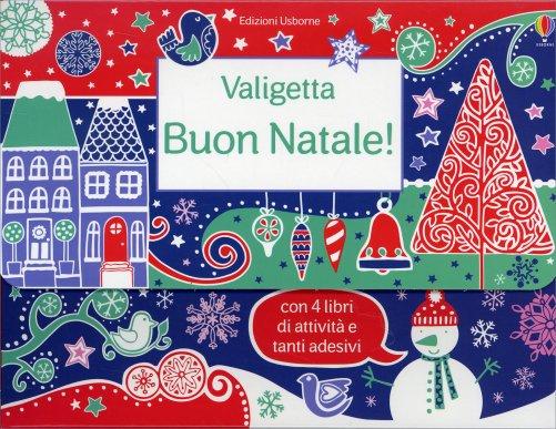 Adesivi Buon Natale.Valigetta Buon Natale Di Usborne Edizioni