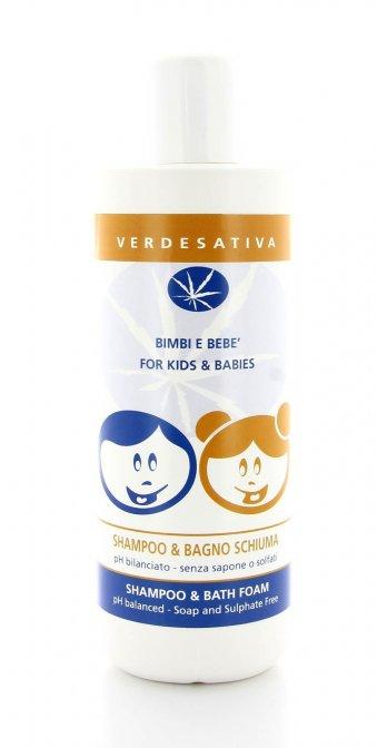 Bimbi e Bebè - Shampoo e Bagno Schiuma - Verdesativa