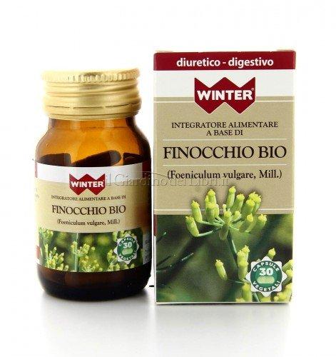 Integratore Alimentare - Finocchio Bio - Diuretico e Digestivo