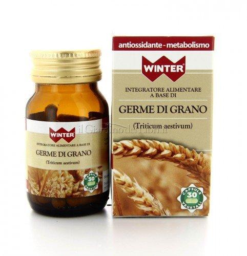 Integratore Alimentare - Germe di Grano - Antiossidante e Metabolismo