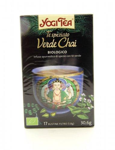 Yogi Tea - Tè Speziato - Verde Chai Bio