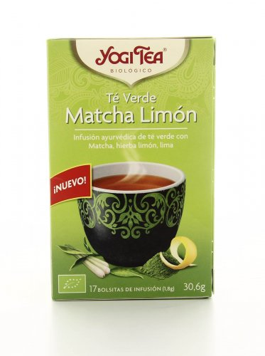 Tè Verde Matcha e Limone Yogi Tea