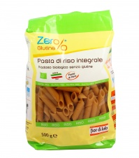 PENNE DI RISO INTEGRALE - ZERO GLUTINE Pasta bio senza glutine