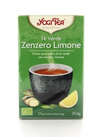 Yogi Tea - Tè Verde Zenzero e Limone