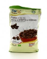 Zero Glutine - Follie di Riso Ripiene di Crema al Cacao Bio