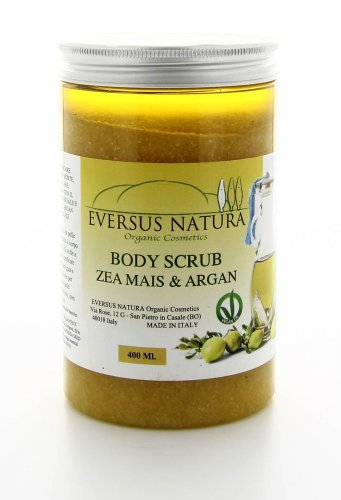 Zea Mais & Argan Body Scrub