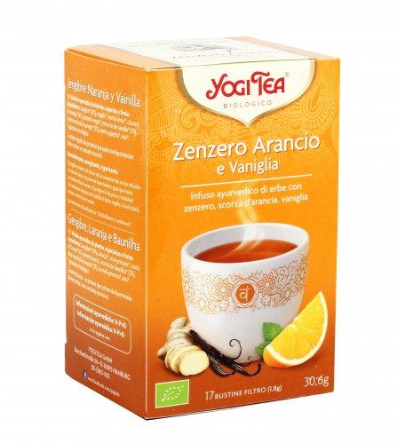 Infuso Zenzero Arancio e Vaniglia