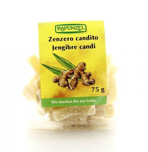 Zenzero Candito Naturale Bio