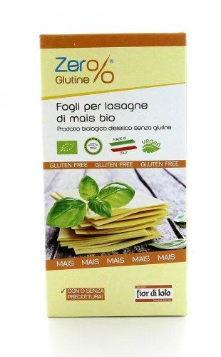 Zero Glutine - Fogli per Lasagne di Mais