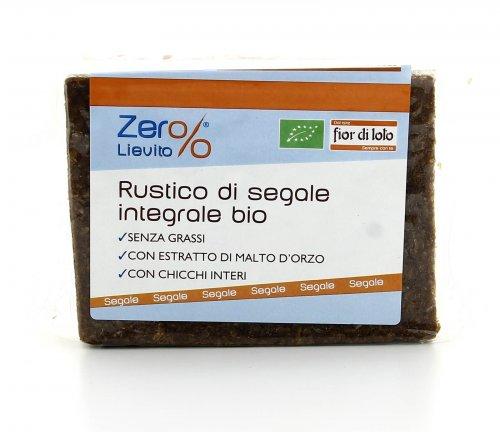 Zero Lievito - Rustico di Segale Integrale Bio