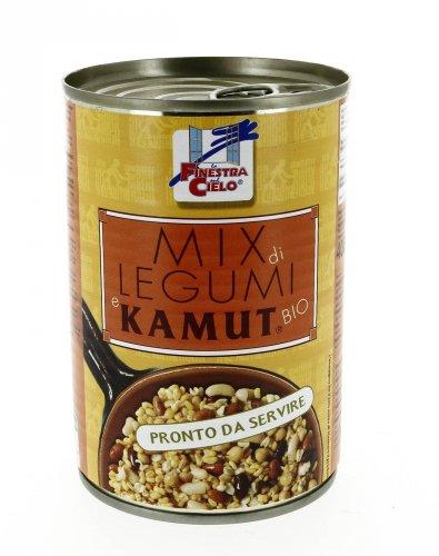 Zuppa KAMUT® - grano khorasan e Legumi