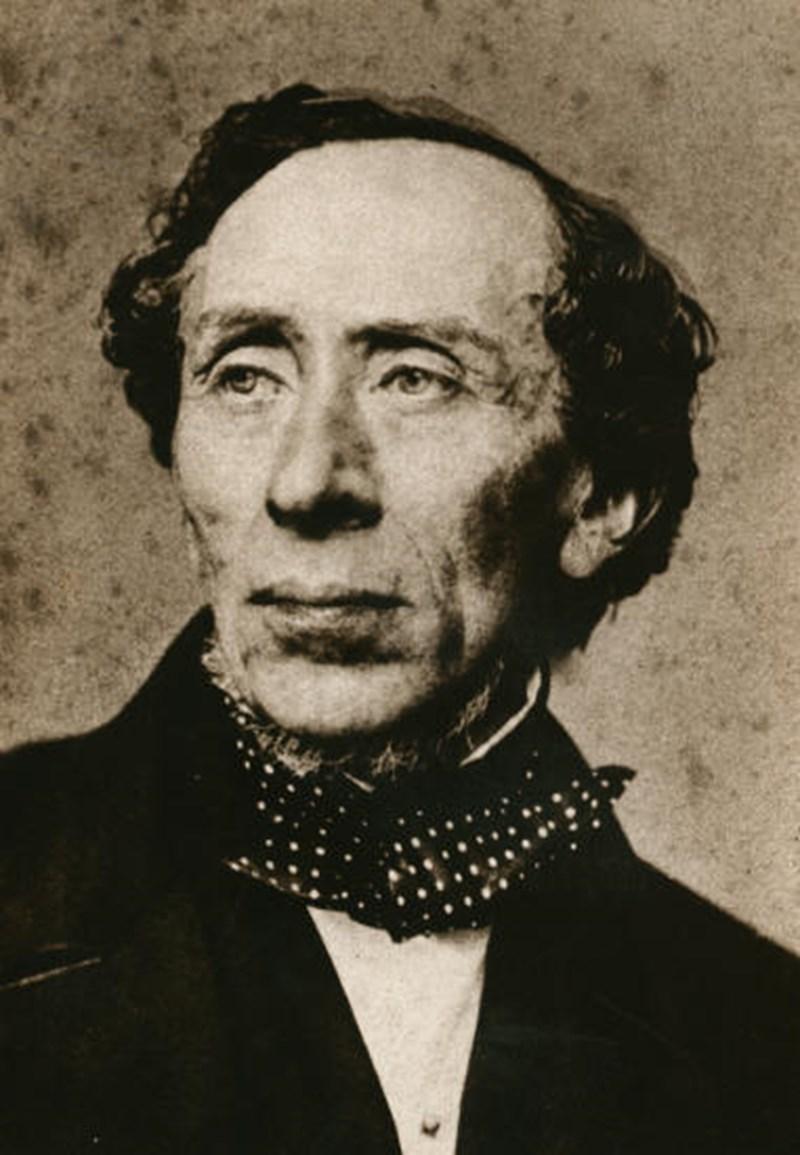 Hans Christian Andersen - Foto autore