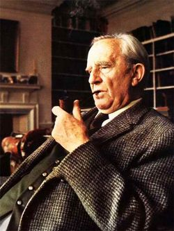 J.R.R. Tolkien - Foto autore