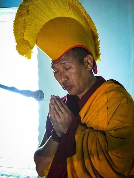 Lama Thupten - Foto autore