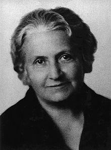 Maria Montessori - Foto autore