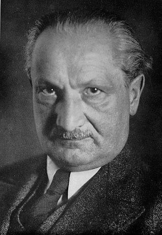 Martin Heidegger - Foto autore