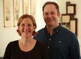 Toni Harman e Alex Wakeford