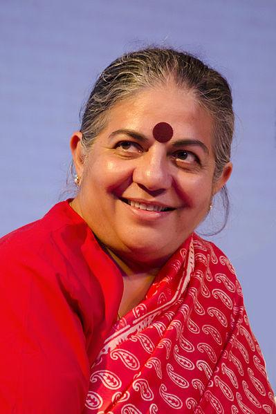 Vandana Shiva - Foto autore
