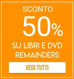Sconti 60% su centinaia di libri