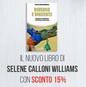 Banner nuovo libro Selene Calloni Williams - Diverso e Vincente