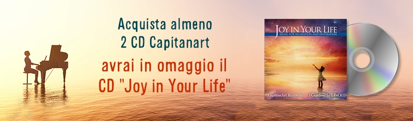 Omaggio CD Joy in Your Life - Capitanart