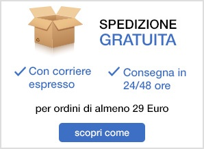Banner spedizioni SX - 29 euro