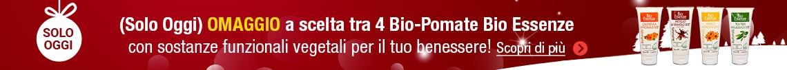 Omaggio a scelta tra 4 Bio-Pomate di Bio-Essenze!