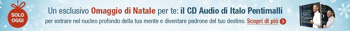 (Solo Oggi) L'esclusivo Omaggio di Natale che abbiamo scelto per te: il CD Audio di Italo Pentimalli!