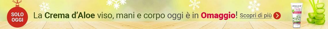 Oggi in Regalo la Crema d'Aloe Universale!
