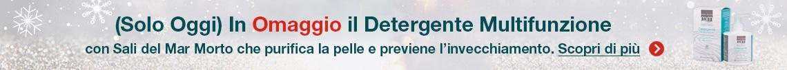 Solo Oggi in Omaggio il Detergente Multifunzione ai Sali del Mar Morto!