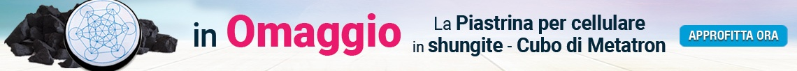 Oggi in Regalo l'esclusiva Piastrina per Cellulare in Shungite!