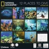 12 places to dive retro