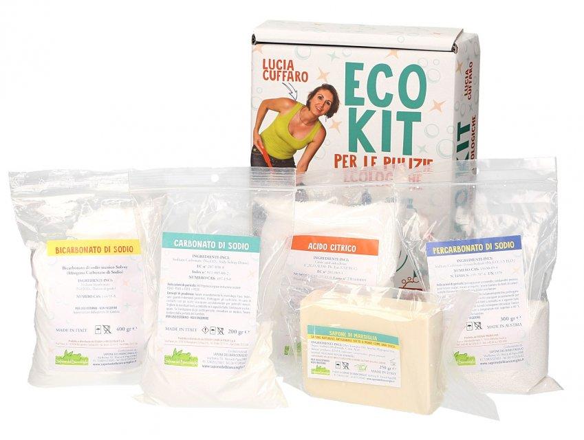 Eco Kit per le Pulizie Ecologiche Contenuto