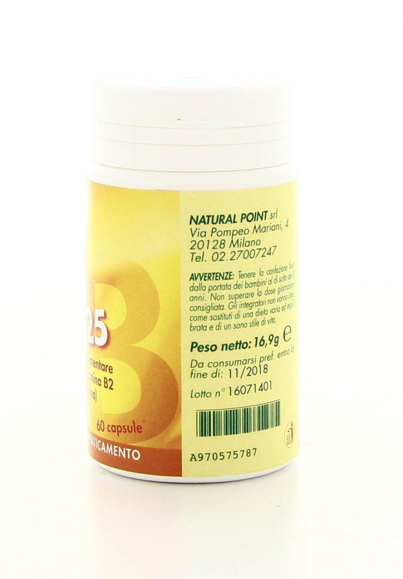 B2 25 Riboflavina 100 Capsule Natural Point