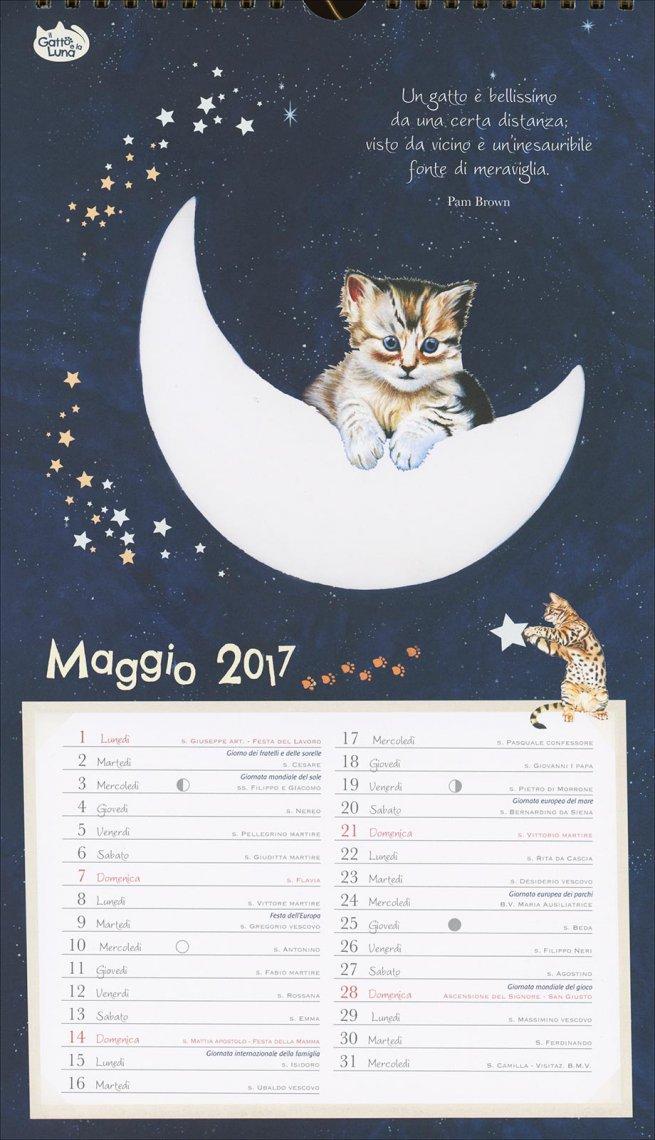 Calendario 2017 - Il Gatto e la Luna