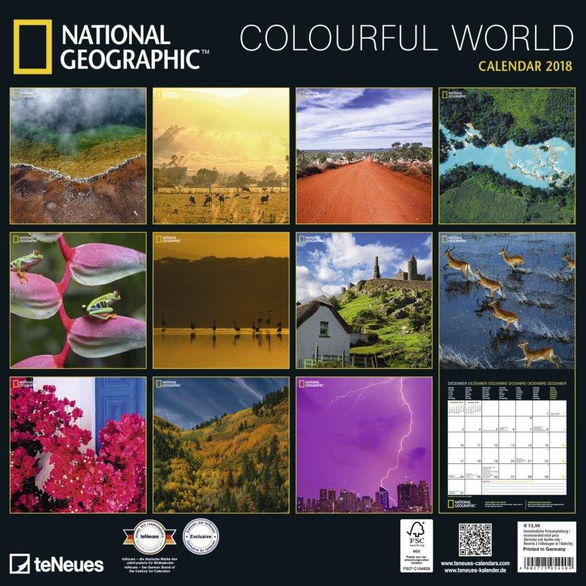 Calendario 2018 - Colourful World