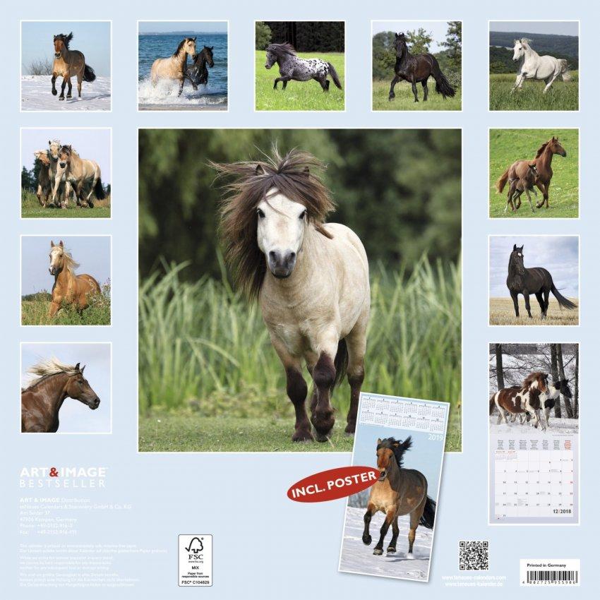 Calendario Horses 2018