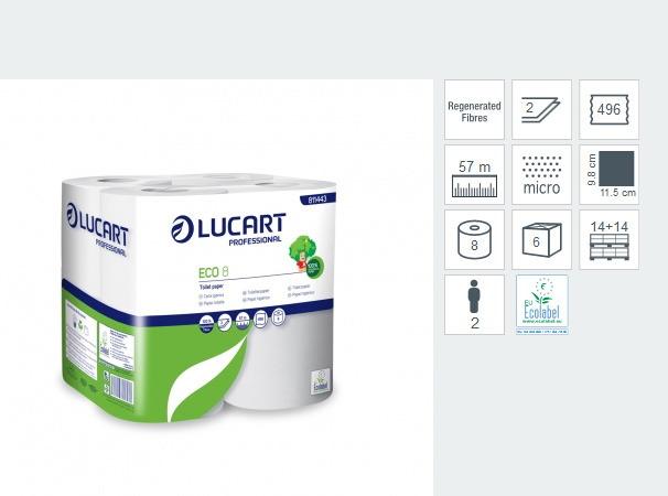 Carta Igienica - Lucart